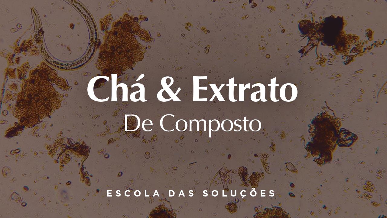 Chá & Extrato de Composto