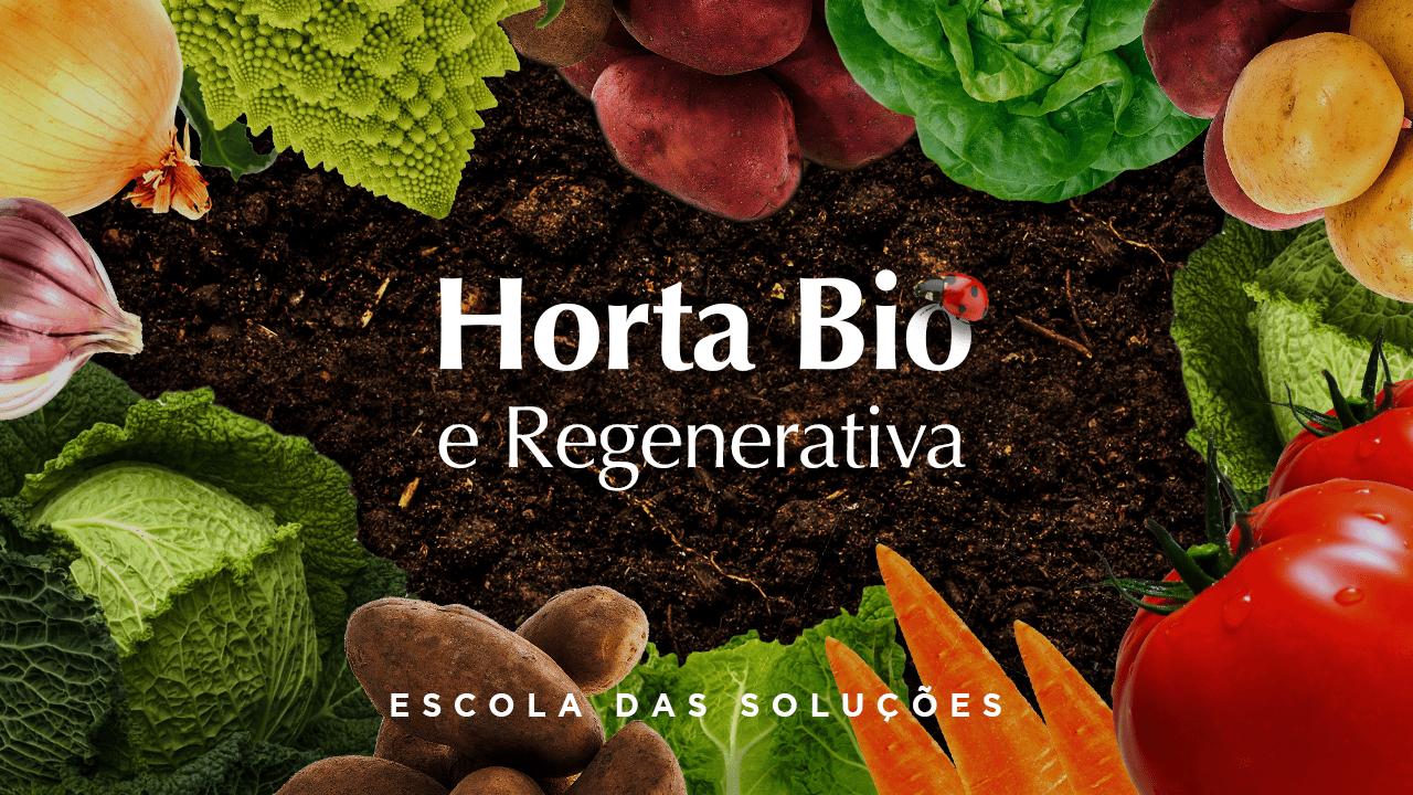 Curso online Horta Bio e regenerativa